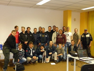 Gruppenbild Teilnehmer 2008